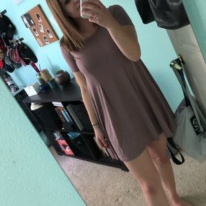 Urban Outfitters Mauve Swing Dress!